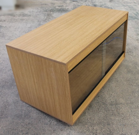 120cm x 60cm x 75cm  (48x24x30) Flat Packed Vivarium 4ft