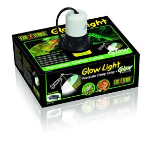 ExoTerra Glow Light/Reflector Small, Medium or Large
