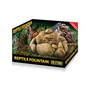 ExoTerra Reptile Fountain Dish with pump