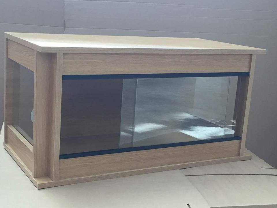 Glass Sided 120cm x 90cm x 60cm  (48x36x24) Flat Packed Vivarium 4ft