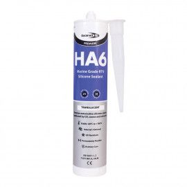 HA6 RTV Silicone Sealant 310ml - Transparent or Black